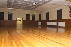 Image of inside Merlynston Progress Hall.