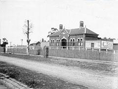 Moreland train station pre 1938