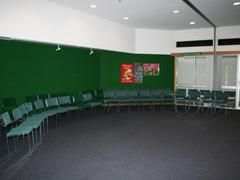 Coburg Library Meeting Room internal of chairs