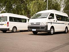 Council community mini buses