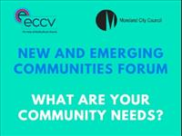 New and emerging communities forum