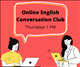 Online English conversation club