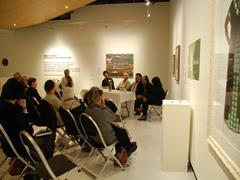 Artist talks at the Counihan Gallery