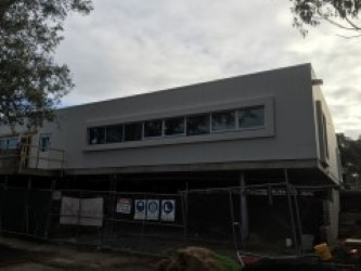 Barry Beckett CC construction June 2016