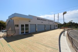 Brunswick Cycling Club Pavilion front view