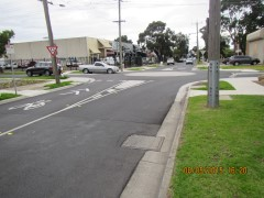 Charles & Dawson Streets, North Coburg - Roundabout -   Works Completed