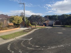 Callander Road Pascoe Vale Drainage improvement works Stage 1 Construction works completed