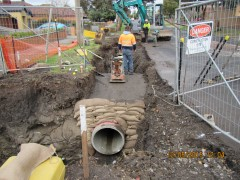 McBryde Street, Fawkner  During Construction Works (2)