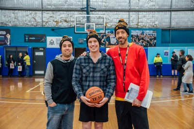 Chris Worner and his friends created Hoops for the Homeless