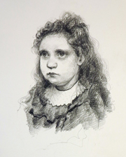 Counihan Gallery Steve Cox Study of a Young Girl 2014