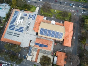 Moreland Civic Centre solar panels