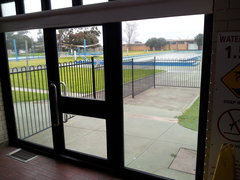 double glazing fawkner leisure centre