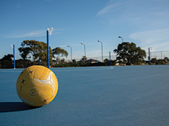 Charles Mutton netball courts