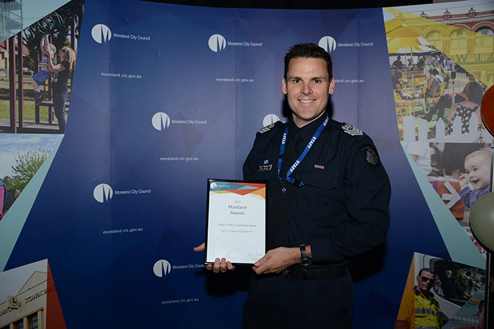 Mayor's Police Leadership Award - Winner - Senior Sergeant Troy Papworth