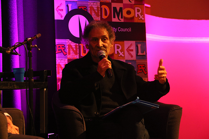 Refugee advocate Arnold Zable at the Where have we come to? project launch