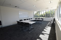 Coburg North Meeting Room Set up for a meeting